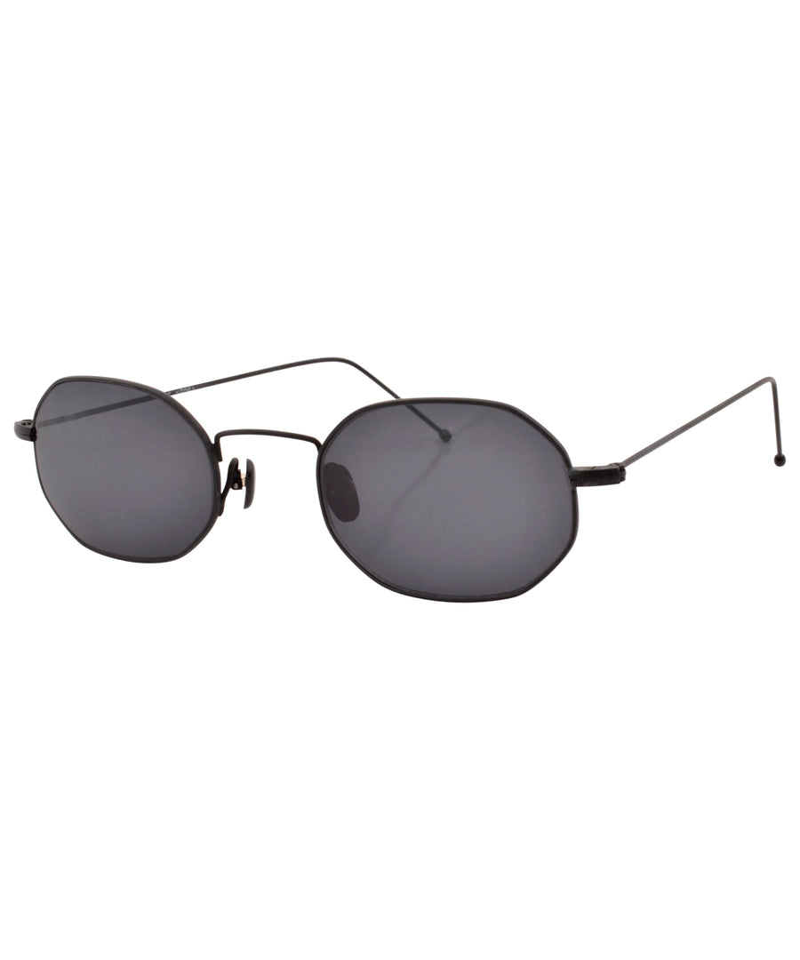 pluma black sunglasses