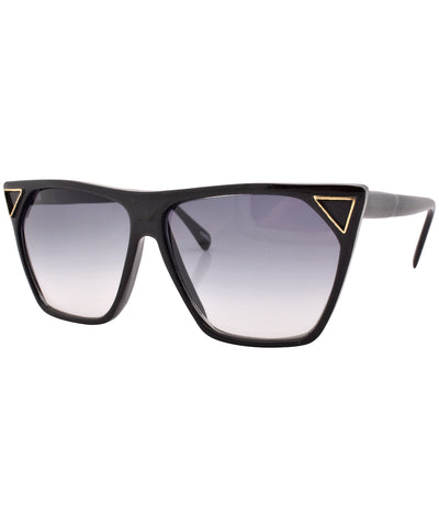 poppy black sunglasses