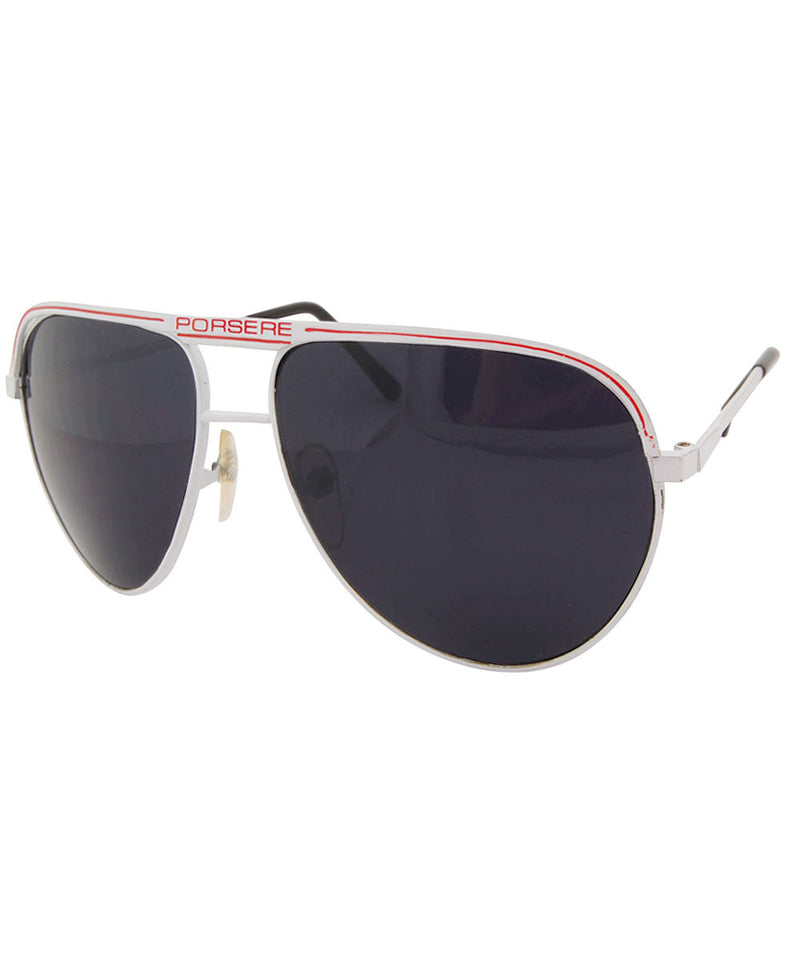 porsere white sunglasses