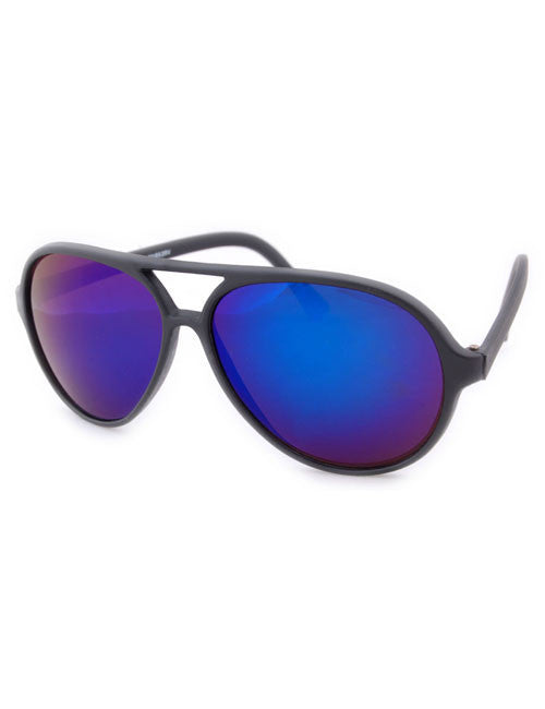 potts black blue sunglasses