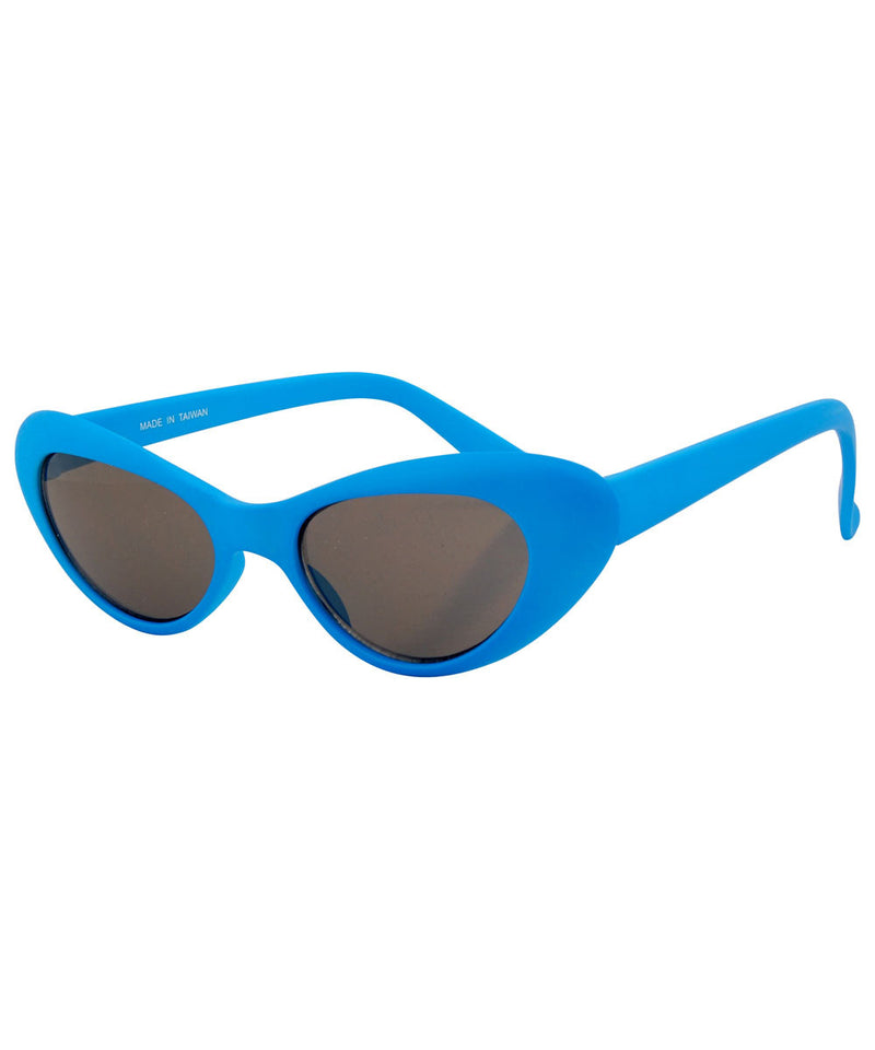 pow blue sunglasses