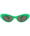 pow green sunglasses