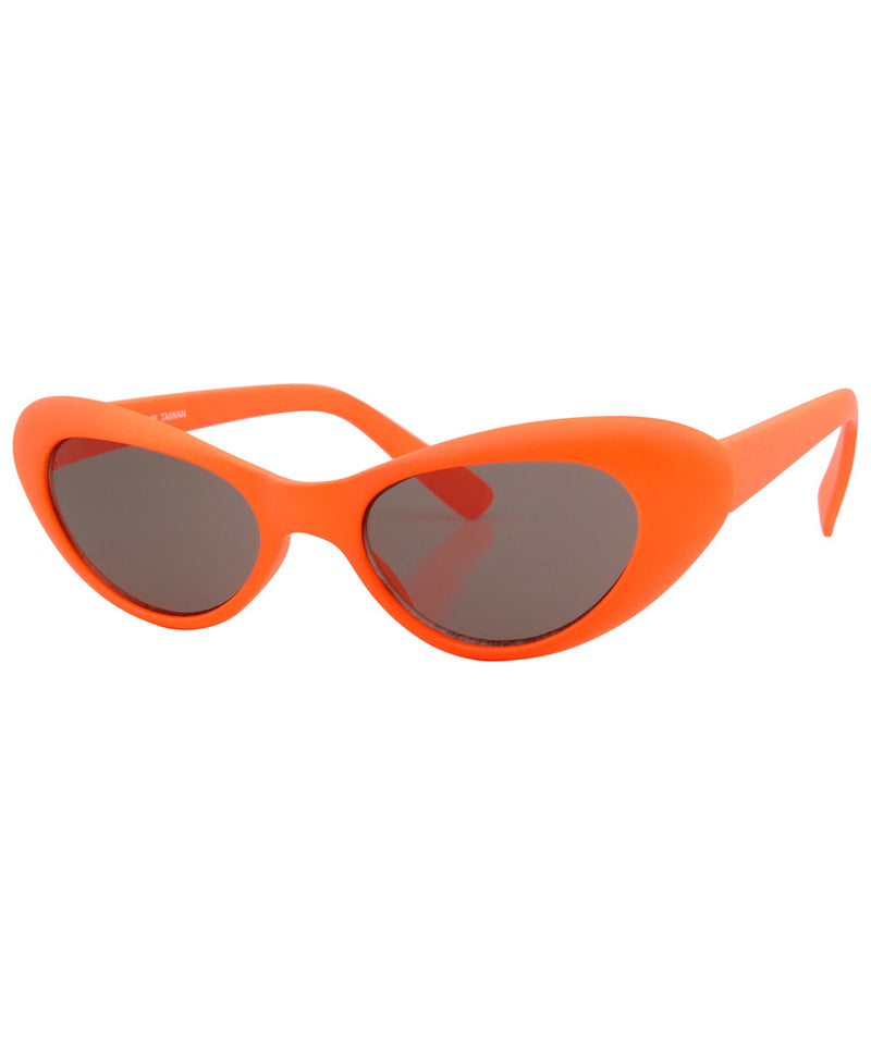 pow orange sunglasses