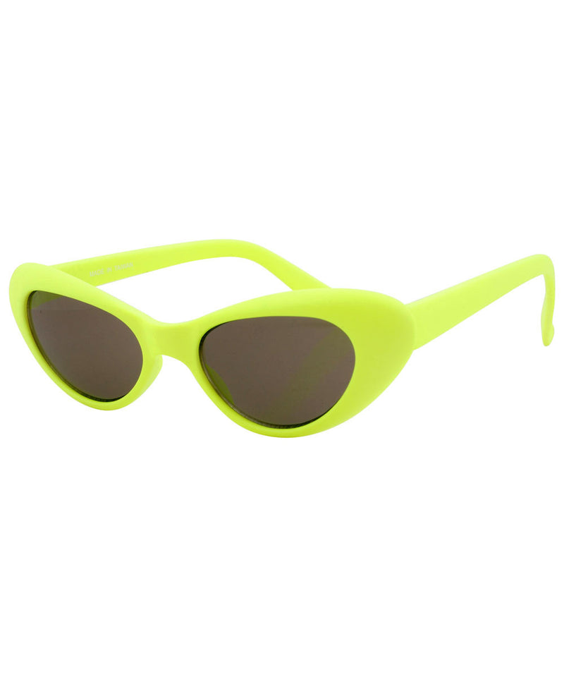 pow yellow sunglasses