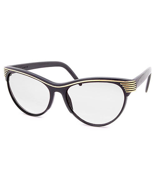 prelude black clear sunglasses