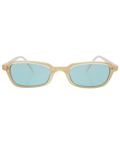 pretties aqua sunglasses