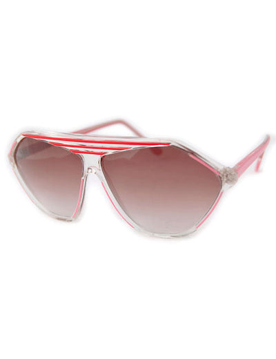 prime crystal red sunglasses