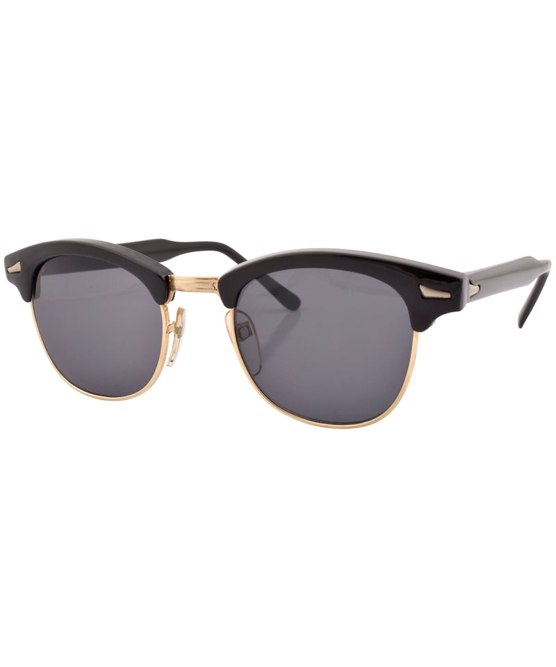 pritchard black gold sunglasses