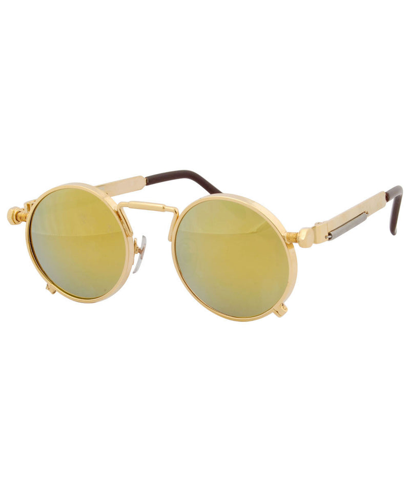 process gold gold sunglasses