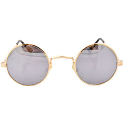 prudent gold sunglasses