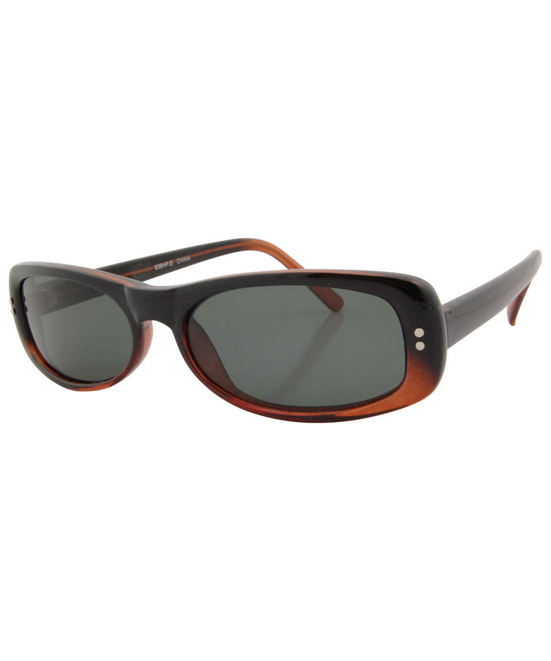 pulse brown black sunglasses