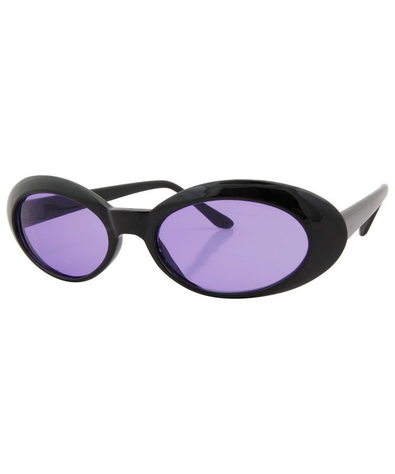 punkees black purple sunglasses