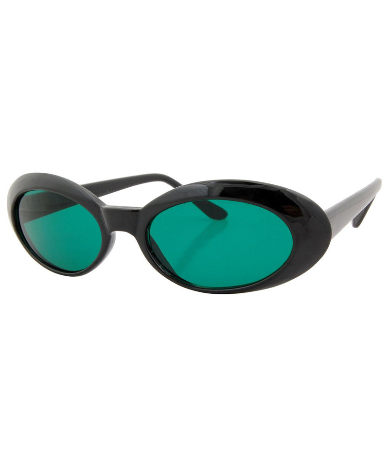 punkees green sunglasses