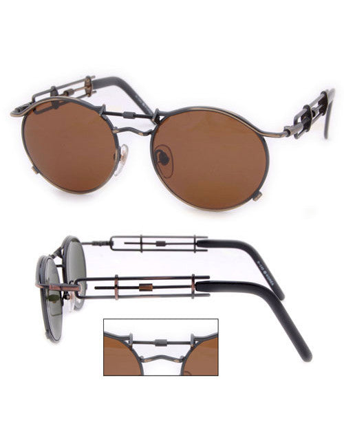 purpose brass sunglasses
