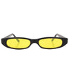 qats black yellow sunglasses