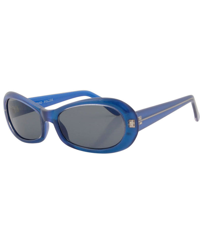 quacker blue sunglasses