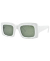 quantum white sunglasses