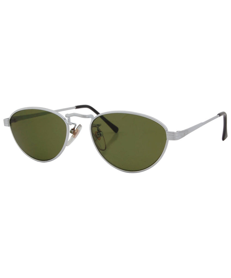 quilt silver sunglasses