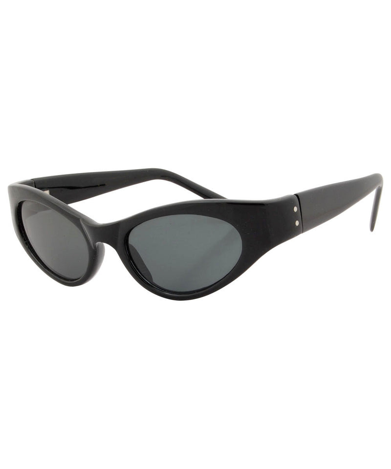 quiver black sunglasses