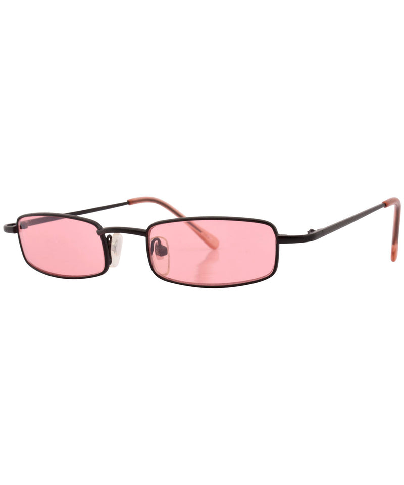 raddy pink black sunglasses