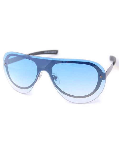 rally blue sunglasses