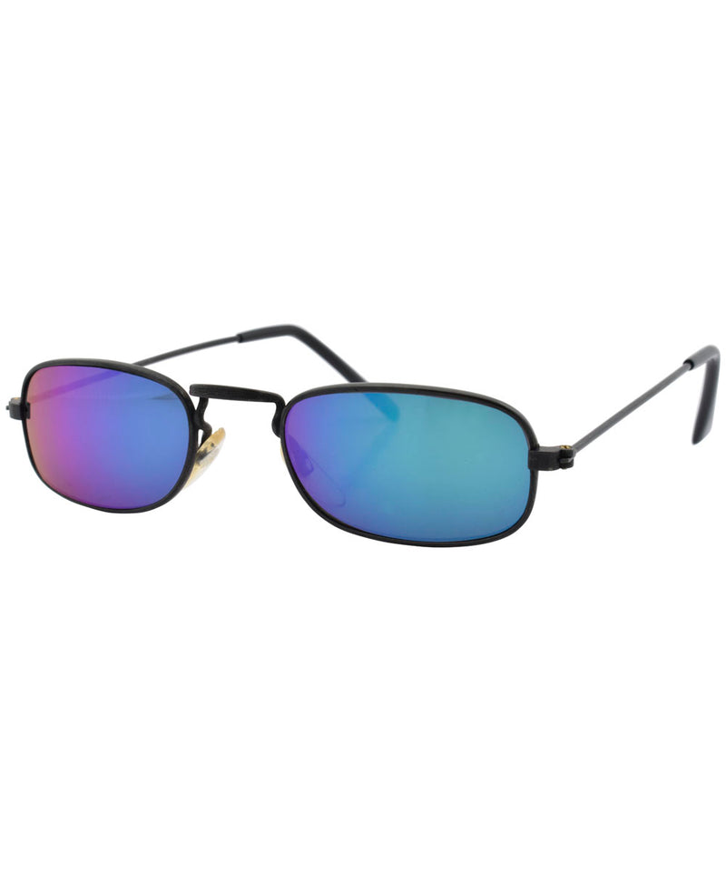 rays black blue sunglasses