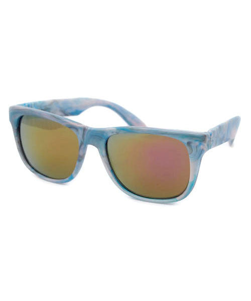 sepulveda teal sunglasses