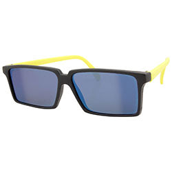 rear view yellow sunglasses