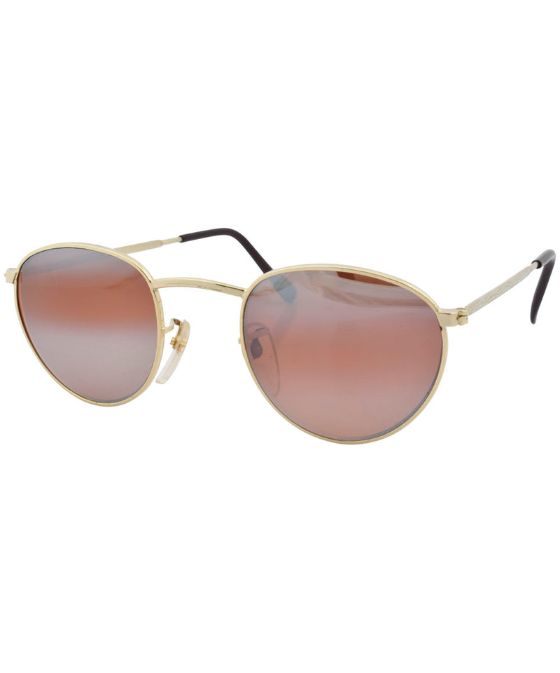 recap gold sunglasses