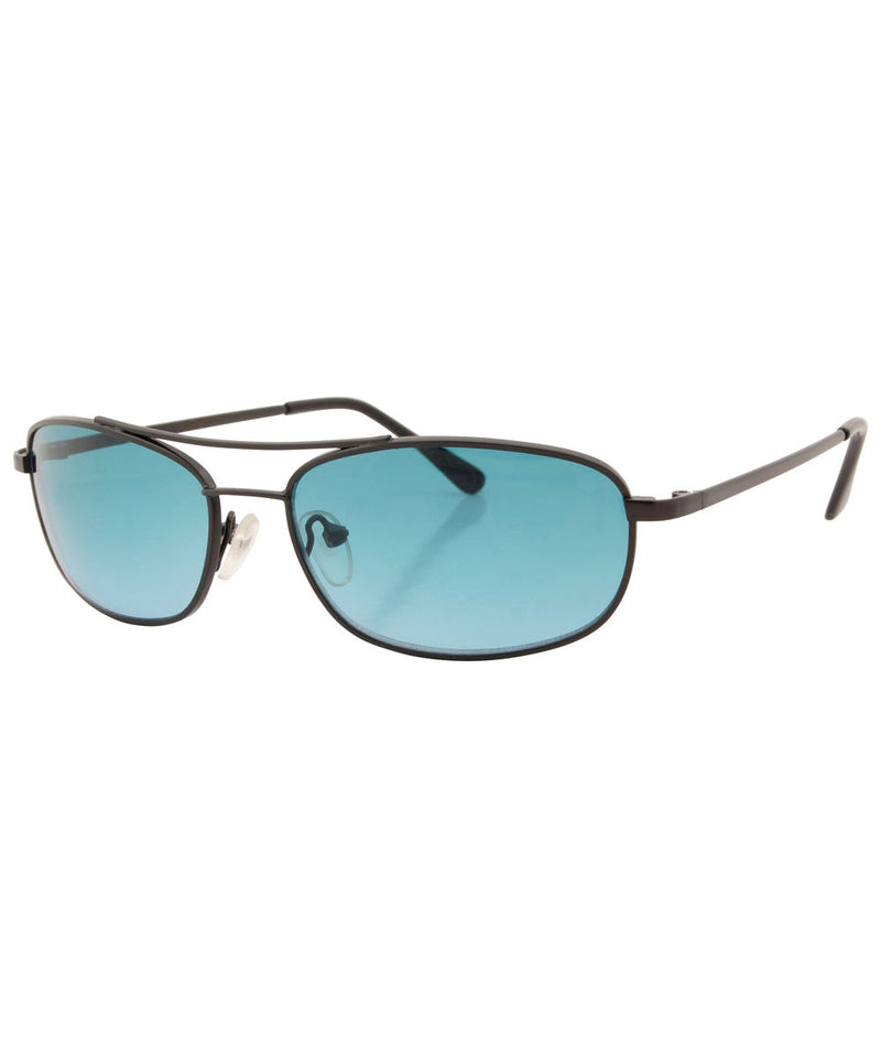 reno black aqua sunglasses