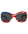 revolution red white blue sunglasses