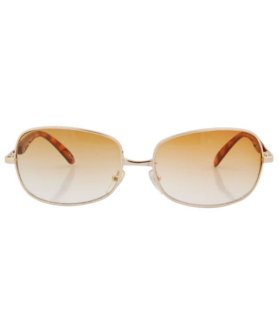 riches amber sunglasses