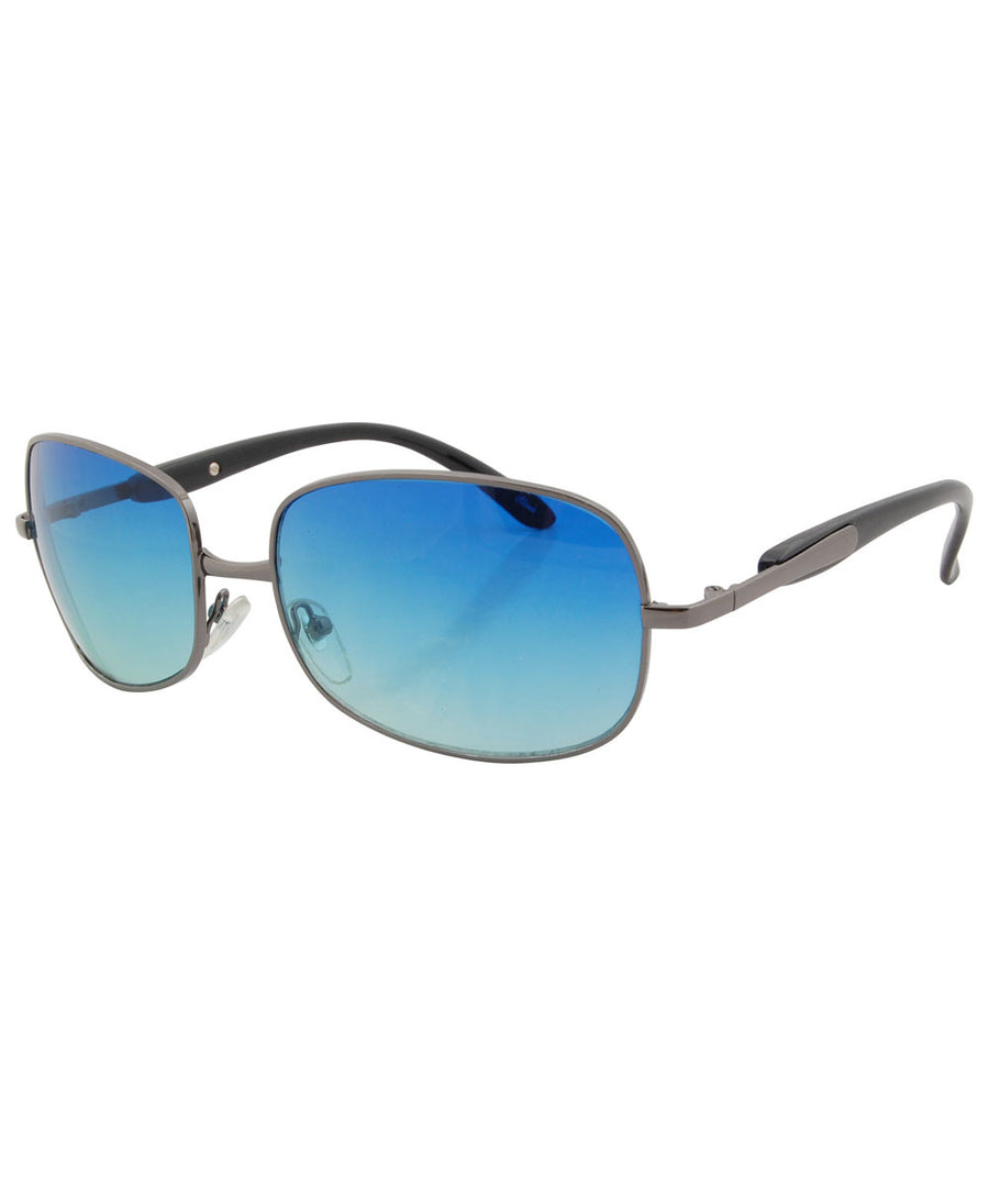 riches aqua sunglasses