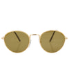 ridley gold sunglasses