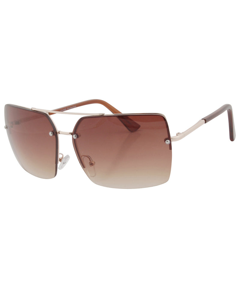 ripper brown sunglasses