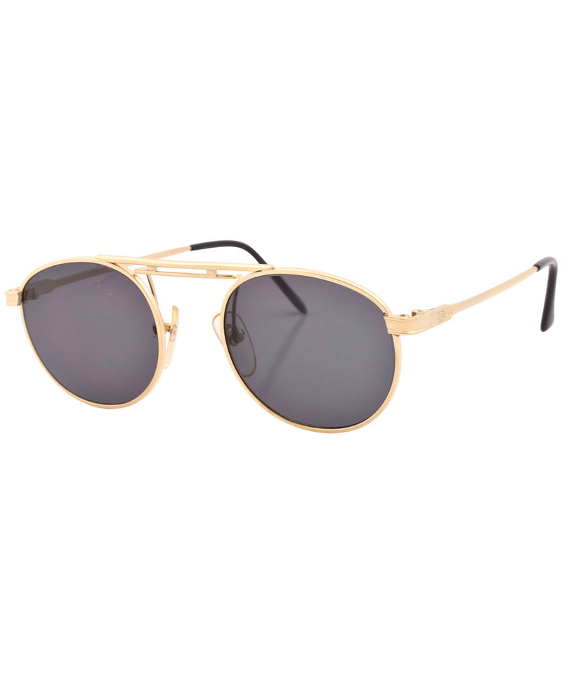 rivet gold sunglasses