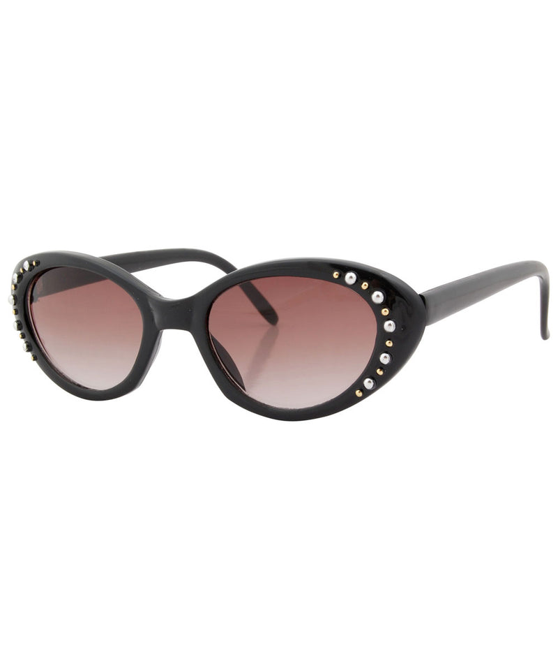 riviera black sunglasses