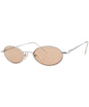 roar silver brown sunglasses