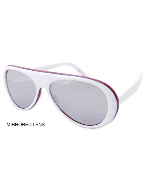 rubicon white sunglasses