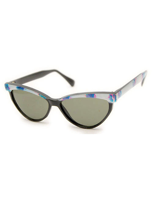 tijuana white blue sunglasses
