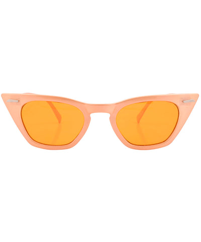saccharine orange sunglasses