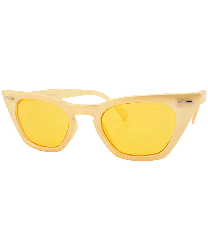 saccharine yellow sunglasses