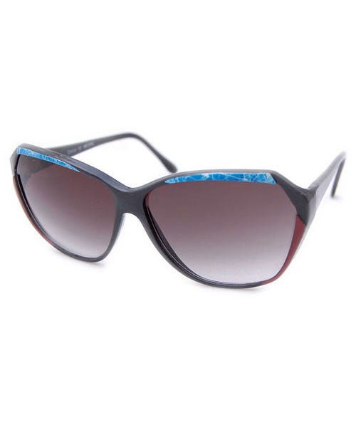 sapphire red blue sunglasses