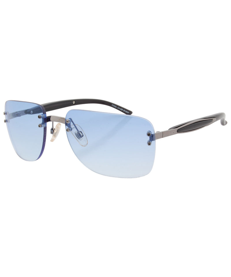 sass blue sunglasses