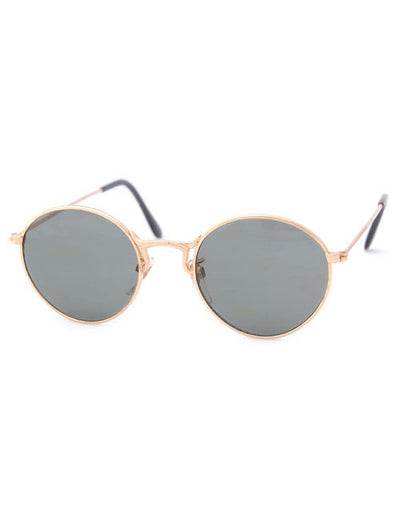 schedule gold sunglasses