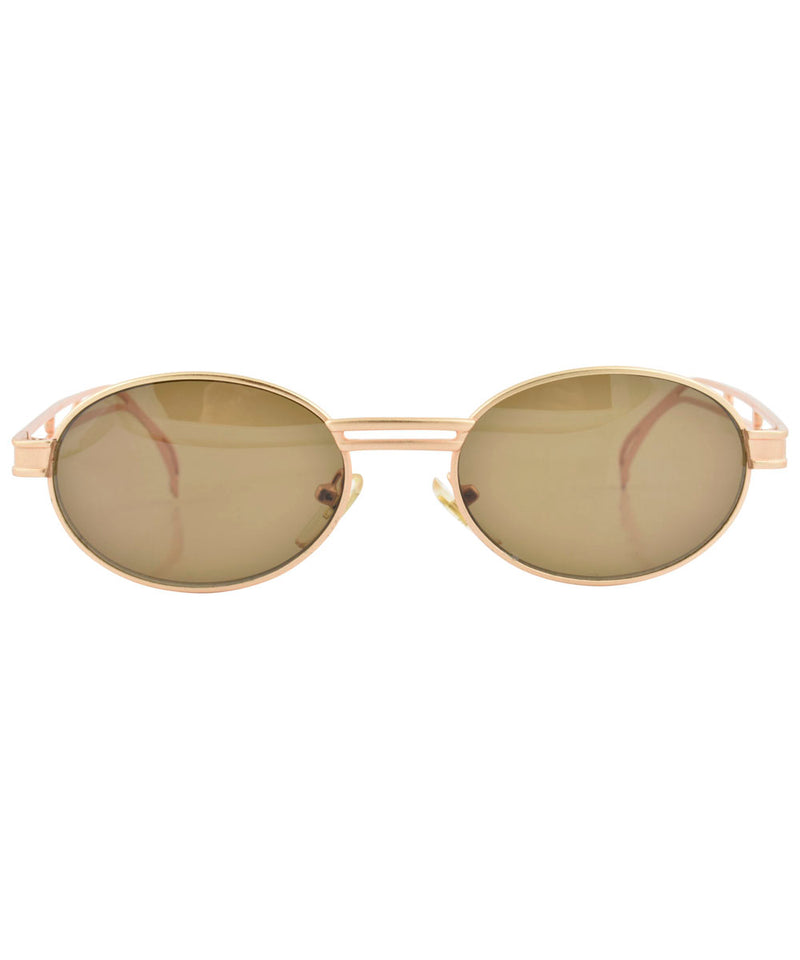 scotch gold brown sunglasses