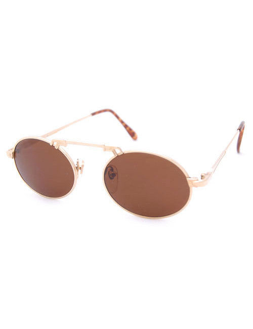 scuttle gold sunglasses