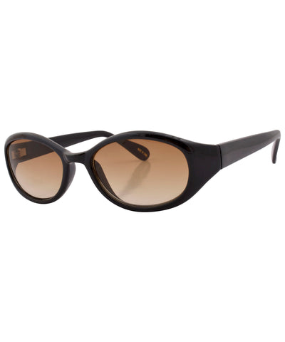 seeds black amber sunglasses