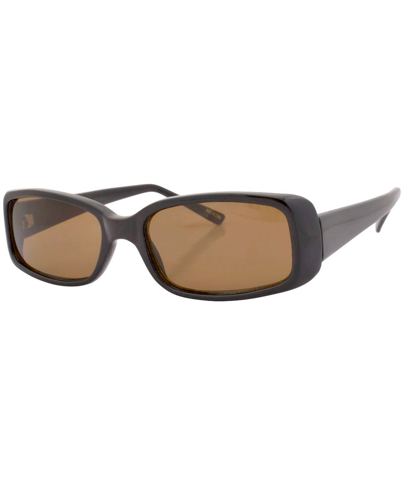 seven black brown sunglasses