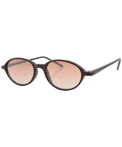 shaken black amber sunglasses